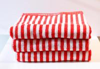 Marimekko Ujo Red Guest Towel