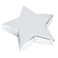 Glass Star Paperweight