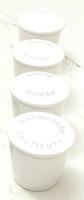 White Ceramic Confit