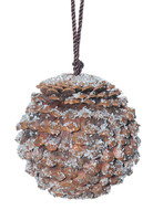 Real Pine Cone Ball Large