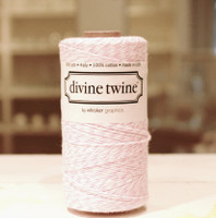 Bakers Twine - Pink & White
