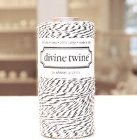 Bakers Twine - Black & White