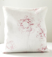 Lavender Filled Linen Pillow