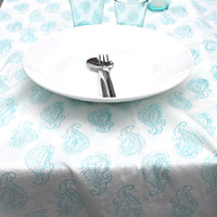 Paisley Tablecloth