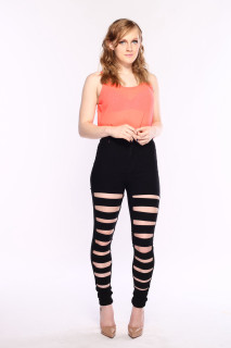 Banded Front Pants