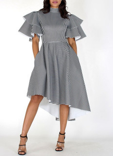 Vivienne Striped Dress