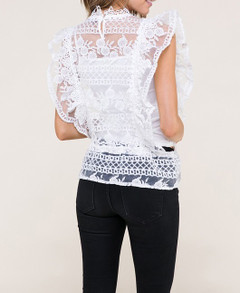 Addison Lace Top