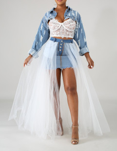 Extra AF Denim Skirt (SOLD OUT)