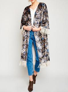 Macy Floral Kimono