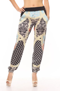 Printed Pattern Pants