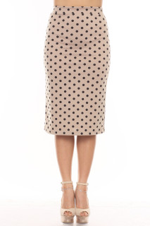 Dotted Lines Skirt