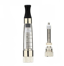 Bauway CE8 Stainless Steel Mesh Clearomizer (Replacement Coil also shown)
