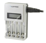 LLoytron Intelligent LCD Battery Charger