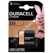 Duracell Lithium Photo 223 battery