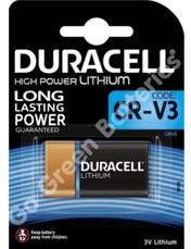 Duracell CR-V3 3V Lithium Ultra Photo Battery (V3). 1 Pack
