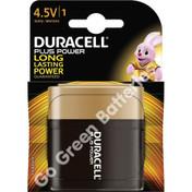 Duracell MN1203 (3LR12) 4.5V Alkaline Lantern Battery. 1 Pack