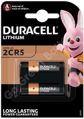 Duracell 245 6V Lithium Ultra Photo Battery (2CR5). 1 Pack