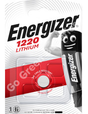 Energizer CR1220 3 Volt Lithium Coin Cell Battery. 1 Pack