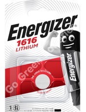Energizer CR1616 3 Volt Lithium Coin Cell Battery. 1 Pack