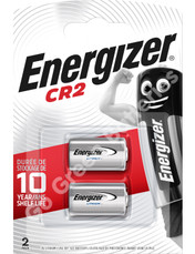 Energizer CR2 3 Volt Lithium Ultra Photo Battery (DLCR2 / ELCR2). 2 Pack