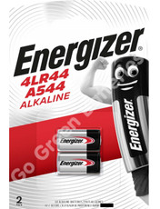 Energizer 4LR44 6 Volt Alkaline Security Battery (A544). 2 Pack