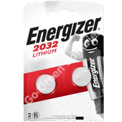 Energizer CR2032 3 Volt Lithium Coin Cell Battery. 2 Pack