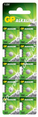 GP LR620 1.5 Volt Alkaline Battery (164). 10 Pack