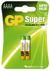 GP AAAA 1.5V SUPER Batteries. 2 Pack