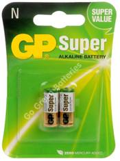 GP LR1 (MN9100) 1.5 Volt Alkaline Battery. 2 Pack