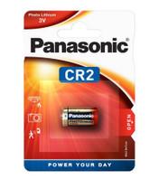 Panasonic CR2 3 Volt Lithium Ultra Photo Battery (DLCR2 / ELCR2). 1 Pack