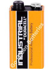 Duracell 9V PP3 Industrial Procell Alkaline Battery (LR22). 1 Pack (DUR-9V-Alk-Procell-Indust-x1)