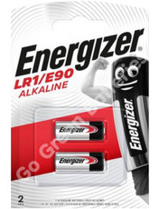 Energizer LR1 MN9100 1.5V Alkaline Battery. 2 Pack