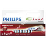 Philips AAA Power Alkaline Batteries (LR03, MX2400)