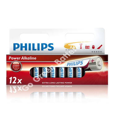 Philips AA Alkaline 12 Pack