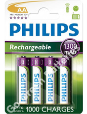 Philips-AA-rechargeable-1300-battery