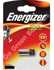 Energizer A23 12 Volt Alkaline Security Battery (23A, MN21, LRV08). 1 Pack