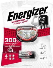 Energizer Vision HD Hands Free Headtorch 300 Lumens Headlamp