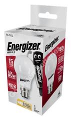 Energizer B22 9.2 Watt GLS LED Bulb. 806 Lumens. Equivalent - 60W S8862