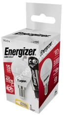 Energizer E14 5.9 Watt LED GOLF. 470 Lumens. Equivalent - 40W (Clear/Warm White) S8841