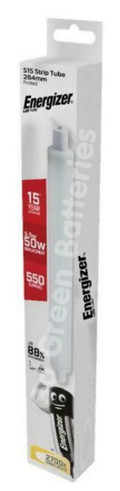 Energizer 284 mm S15 5.5 Watt LED Strip Tube Light Bulb 550 Lumens S9218