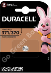 Duracell 371/370 1.5V Silver Oxide battery