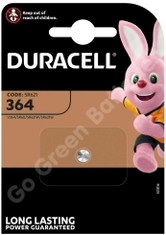 Duracell 364 1.5V Silver Oxide watch battery