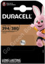 Duracell 394 1.5V Silver Oxide watch battery