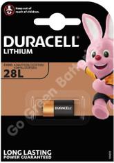 Duracell 28L 6 Volt Lithium Photo Battery (PX28L, 2CR-1/3N, L544)