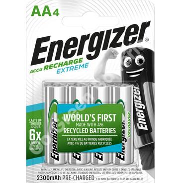 Energizer AA 2300 mAh 1.2 Volt NiMH Rechargeable Batteries 4 pack