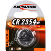 Ansmann CR2354 3 Volt Lithium Coin Cell Battery (2354, DL2354)