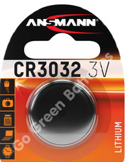 Ansmann CR3032 3 Volt Lithium Coin Cell Battery (3032, DL3032). 1 Pack