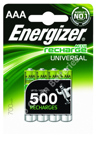 Energizer Aaa 700 Mah Rechargeable Batteries