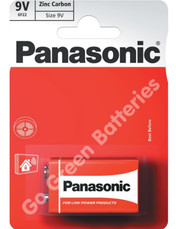 Panasonic 9V Zinc Batteries