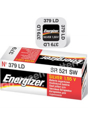 Energizer 379 Single Use Silver Oxide Watch Battery